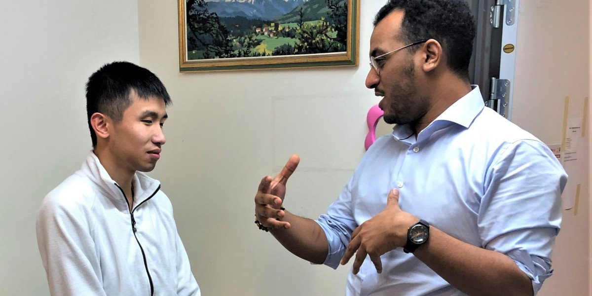 Omar Gamal - stor satsing på arbeid for utviklingshemmede