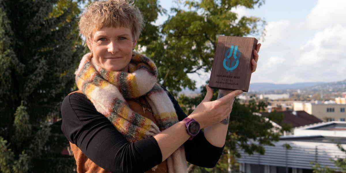 SOR-prisen 2020 til Annette Drangsholt